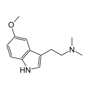 5-MeO-DMT structure